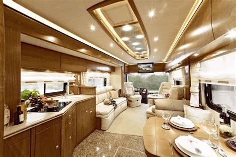 Glass Cabinet Kitchen Doors vario perfect platinum motorhome with mini cabrio garage