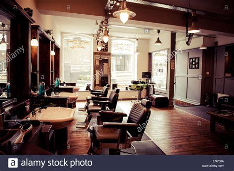 barber shop interior design s barber shop retro styled interior design stock