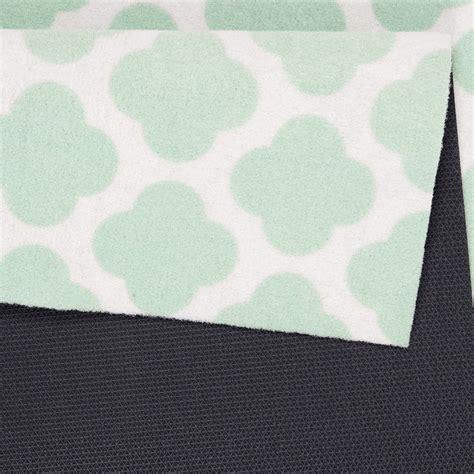 teppich mintgrün washable runner kitchen runner flair mint green 45x140 cm
