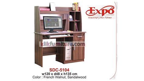 Cek Meja Komputer sdc 5104 meja belajar dan komputer expo harga promo