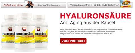 hyaluronsaeure kapseln anti aging wunder