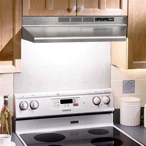 under cabinet hood 30 quot non ducted under cabinet range hood kitchen