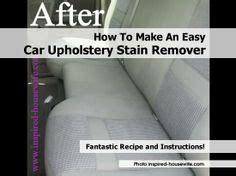 Cleaning Upholstery With Oxiclean by 1000 Images About Cleaning On Stain