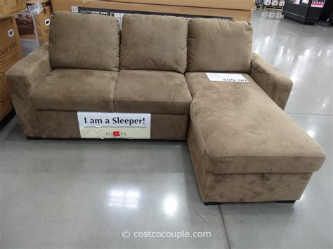 costco sleeper sofa with chaise newton chaise sofa