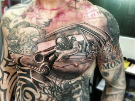 tattoo ink killer take a look at this shotgun killer tattoo macko is still