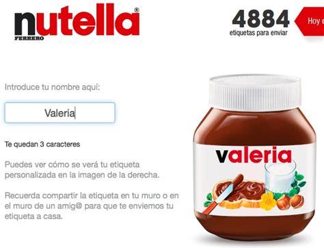tostapane nutella ferrero personalizza nutella e mette il nome sull etichetta