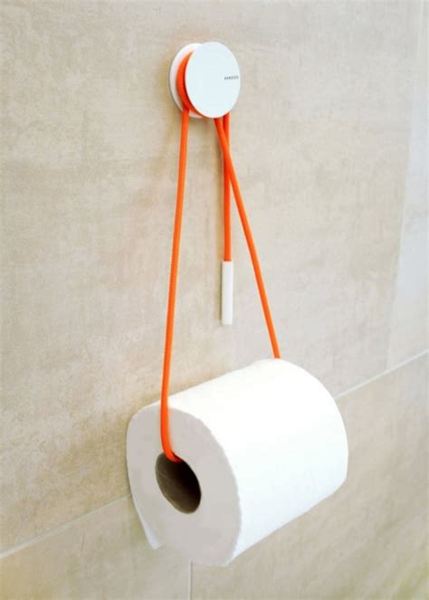 How To Make Toilet Paper Holder - 40 cool unique toilet paper holders assess myhome