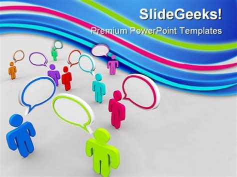 disorganized communication powerpoint backgrounds and