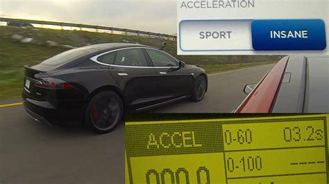 Tesla 0 60 Time Tesla Model S P85d Vs Sport Mode 0 60 Mph Testing