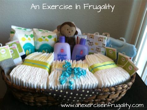 Baby Shower Gifts by How To Make A Budget Baby Shower Basket An Exercise In