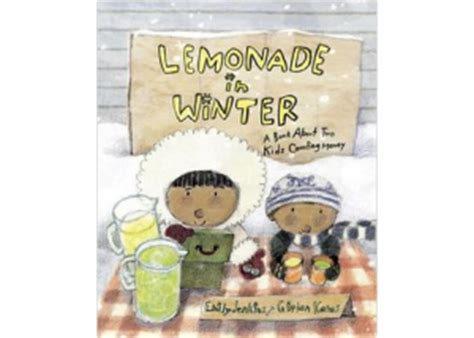 27 winters and counting books book review lemonade in winter a book about two