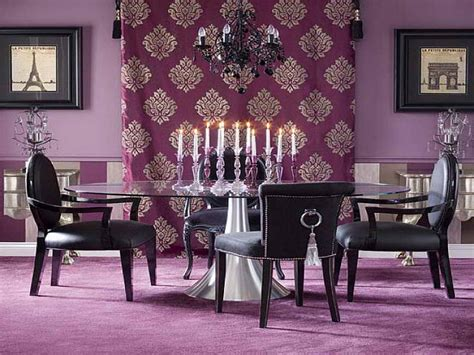 Dining Room Wall Color Ideas by Violeta Al Morado Decorar Net