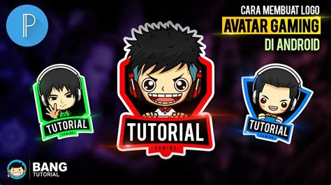 game membuat avatar android cara membuat logo avatar gaming di hp android pixellab
