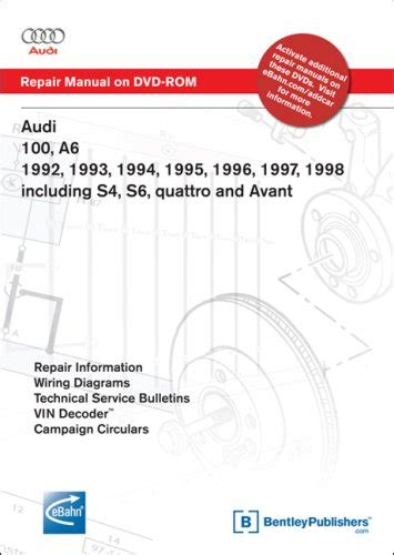 service and repair manuals 1997 audi a6 on board diagnostic system audi a6 service manual 1998 2004 includes a6 allroad quattro s6 rs6 pdfsr com