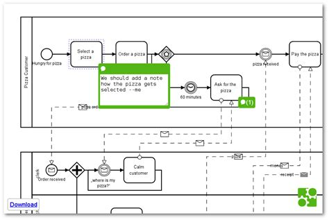 bpmn application github bpmn io bpmn js embedded comments simple
