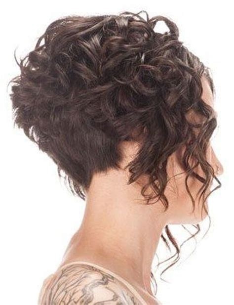 curly inverted bob haircut pictures 17 best images about hair on pinterest older women