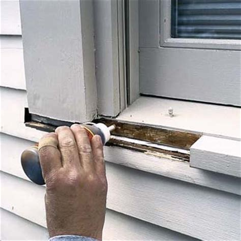 Window Sill Filler Epoxy Wood Repair Archives Peek Brothers Painting