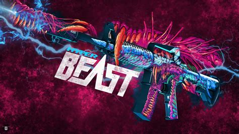 beast backgrounds m4a1 hyper beast cs go wallpapers and backgrounds