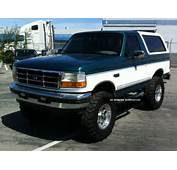 1996 Ford Bronco Xlt Sport Utility 2  Door 5 8l Photo