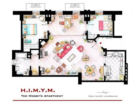 tv shows about home design 12 floor plans of apartment from famous tv shows home
