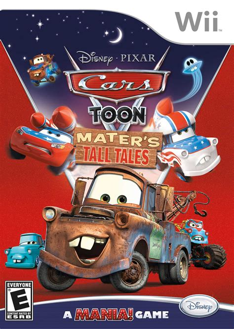 Cars Toon: Mater's Tall Tales Nintendo WII Game