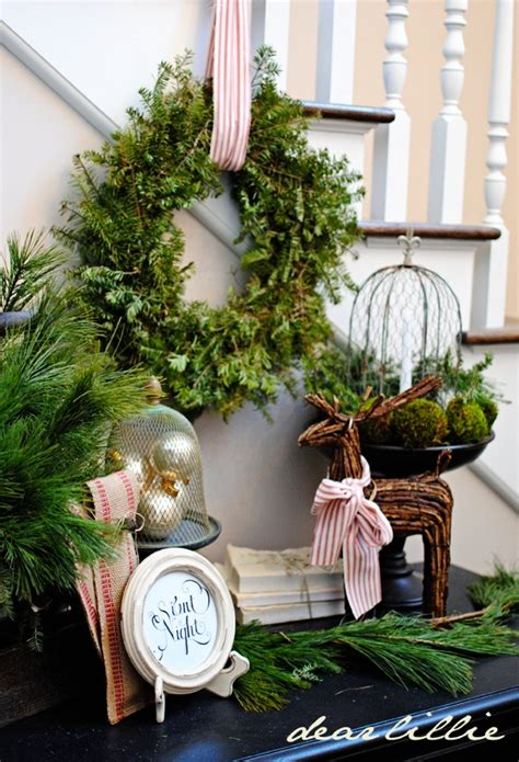 decorating with greenery and diy door swag sarah