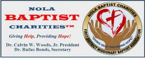 Nola Mba by Nola Baptist Charities