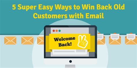 5 Easy Ways To Win The Marital Money Wars 5 easy ways to win back customers with email wisepops