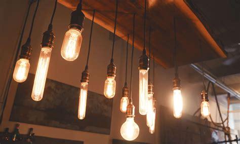 Cool Light Fixtures lighting design trend carbon filament bulbs aka edison