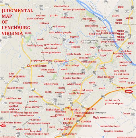 map of lynchburg virginia judgmental maps lynchburg va by joseph estrada copr