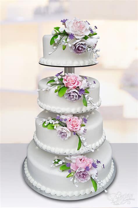 Hochzeitstorte Violett by Hochzeitstorten Klassisch Hochzeitstorten Schlidt De