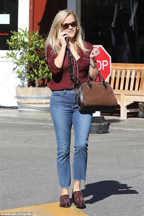 Reese Witherspoons New Look by Reese Witherspoon Is On Trend In Tasselled Loafers As