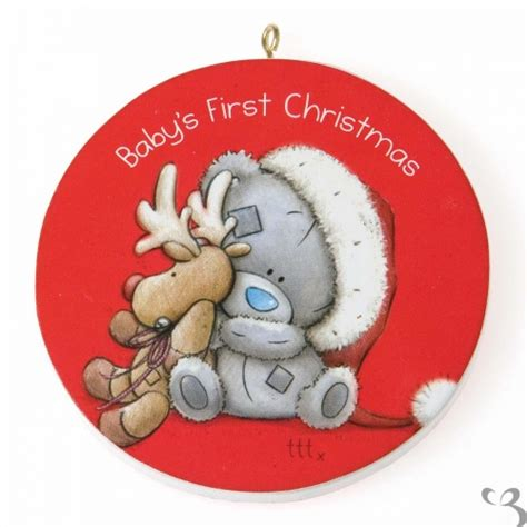 how to take baby frist christmas pictures me to you babies tree decoration threelittlebears co uk