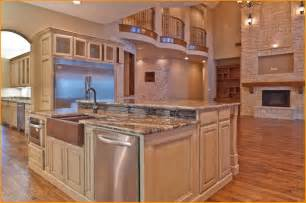 gourmet kitchen islands ideas