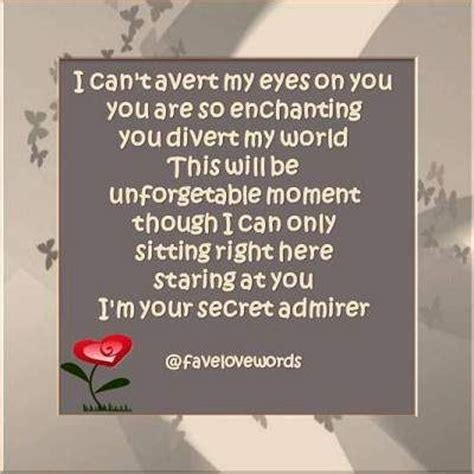 s day secret admirer poems 17 best secret admirer quotes on boy