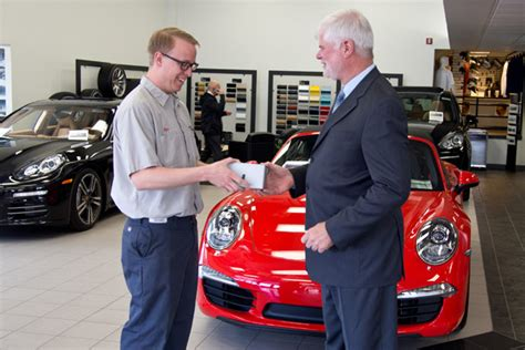 porsche technician congratulate our porsche gold certified technician kyle