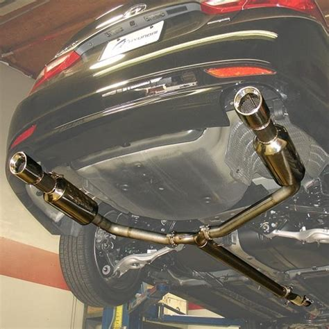 Kia Optima Performance Exhaust 2011 2015 Kia Optima Turbo Injen Catback Exhaust System