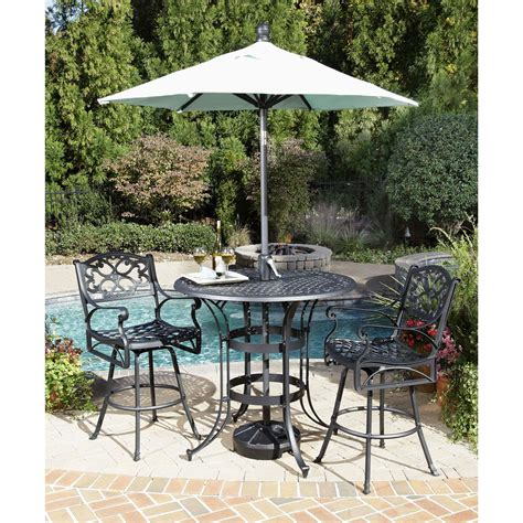 Biscayne Patio Furniture 3 Pc Biscayne Outdoor Bistro Set 224975 Patio Furniture At Sportsman S Guide