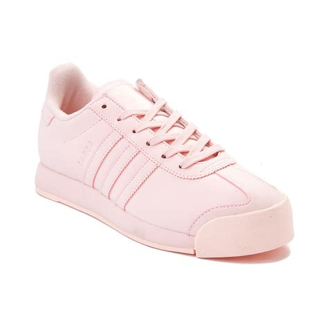 womens adidas samoa athletic shoe pink 436469
