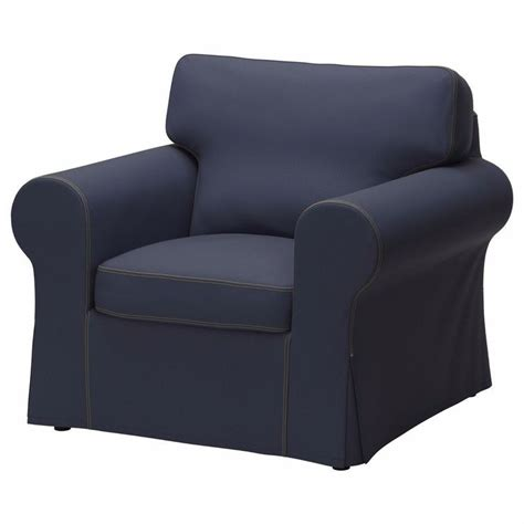ikea denim couch ikea ektorp armchair cover jonsboda blue chair slipcover