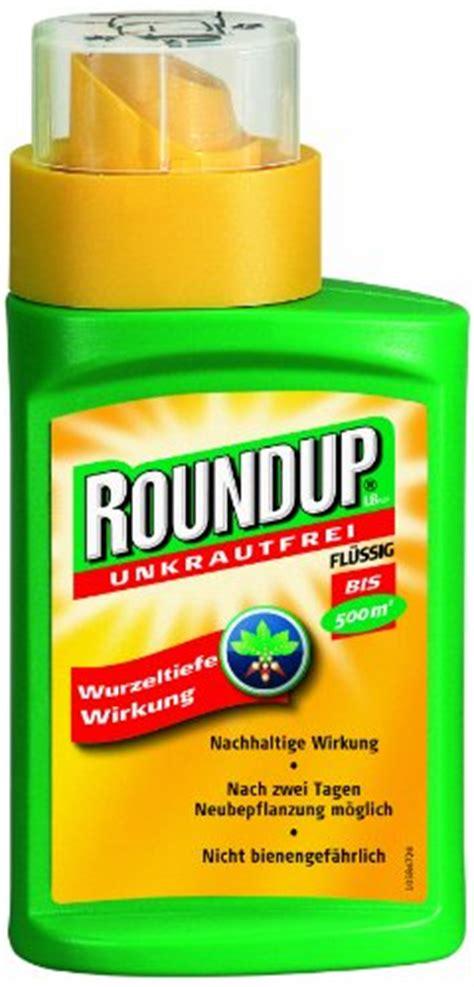Rasendünger Mit Unkrautvernichter Test by Roundup Lb Plus Unkrautfrei 250 Ml Unkrautvernichter