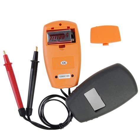 resistenza interna batteria la batteria di sm8124 il tester di metro di tensione di