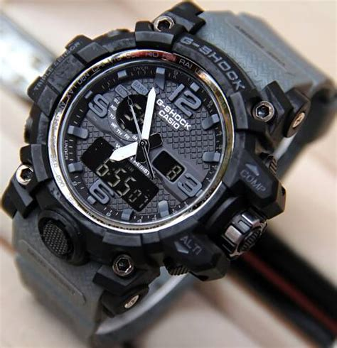 Jam Tangan Pria Reddington Bj431 Original Black Grey T1310 jual jam tangan g shock gpw1000 mudmaster dualtime g shock