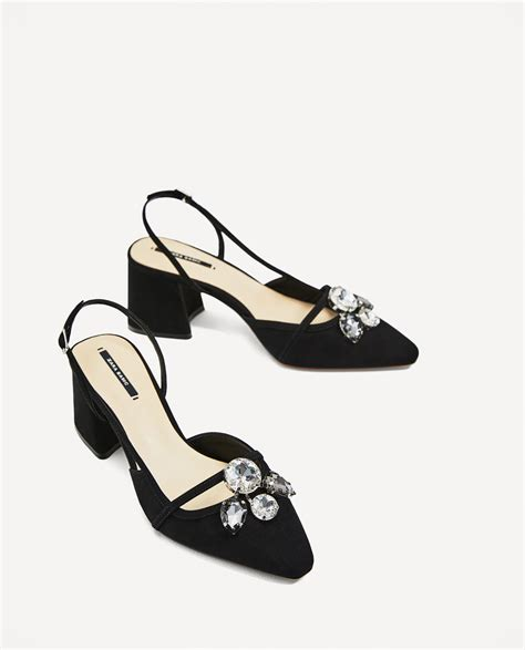 Zara Zapato zara zapato destalonado joya