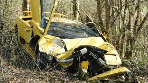Lamborghini Destroyed Lamborghini Diablo Destroyed In Luxembourg Autoevolution