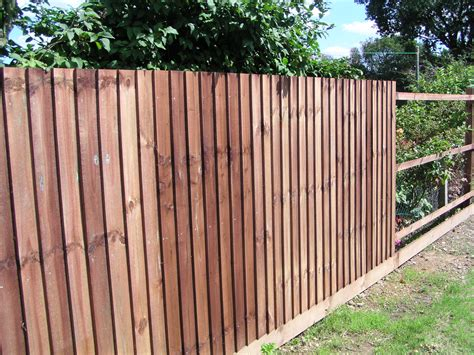 Cheap Garden Fence by Black Bull Fencing Middleton Wood Fencing Middleton