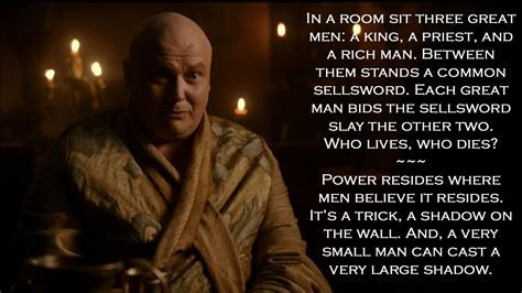 Game of Thrones quotes     sit three great men