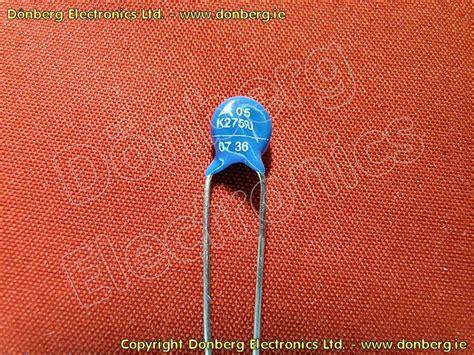 replace varistor with resistor resistor 07k275 varistor 8j6 275v from d 246 nberg us site