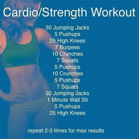 cardio workout plan at home best 25 cardio workouts ideas on pinterest quick daily