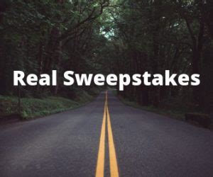 real sweepstakes to enter sweepstakes advantage - Sweepstakes That Are Real